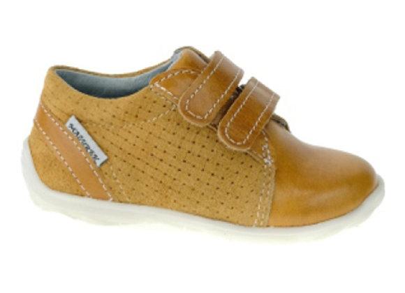 MB_305_COGNAC Leather Shoes