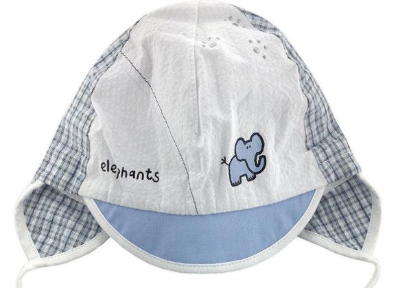 JB_16007_SH White-Blue Summer Hat