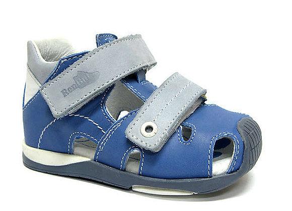 RBB11_1433_0442_CS Blue Leather Sandals