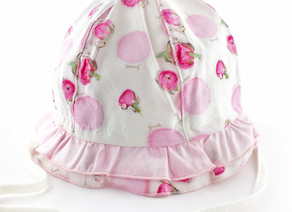 JG_17058_SH Pink Rose Summer Hat