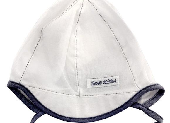 MB_BAM3_SH White Summer Hat