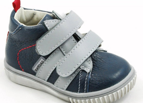 GB102_03_HT Navy Leather High Tops