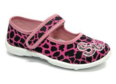 RBG33_415_0043 Pink Panther Canvas Shoes