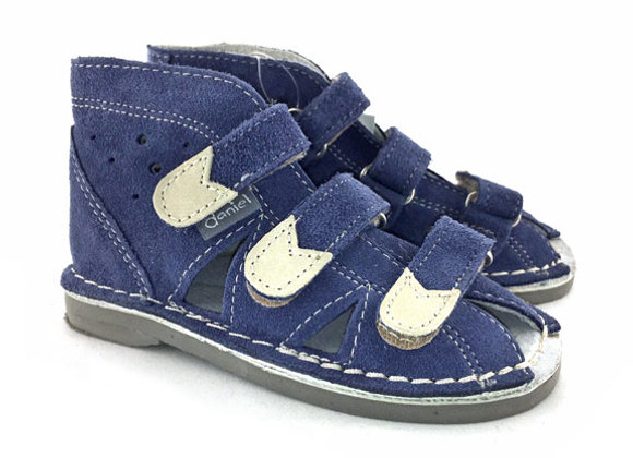 DBS_S105 Jeans Suede Sandals