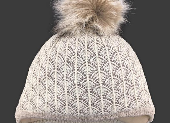 JZA242_S_WHG Beige Winter Hat