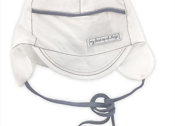 MB_DAM_SH White Summer Hat