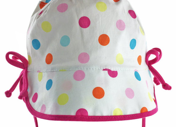 MGH14_SH Colorful Polka Dot Summer Bucket Hat