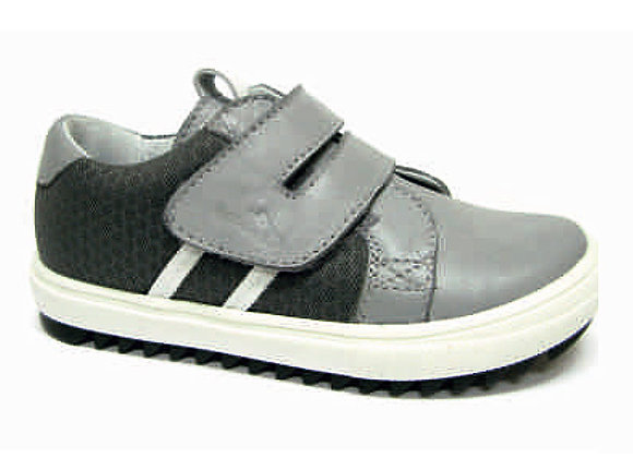 RBB23_3336_0948_S Gray Leather Sneakers