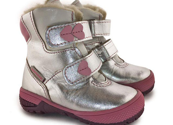 MG226_286_1WB Silver Leather Boots