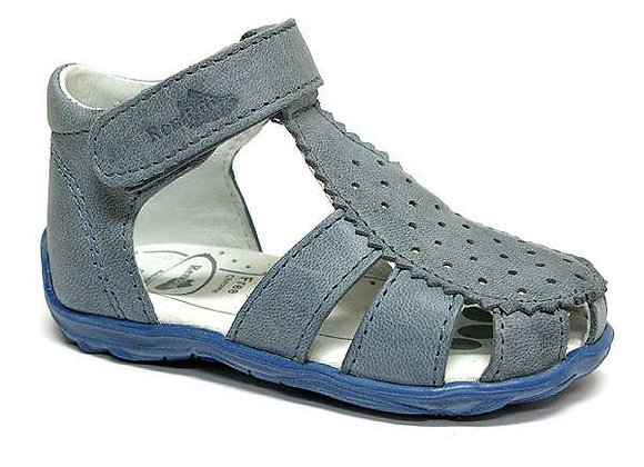 RBB11_1481_0127_CS Blue Leather Sandals