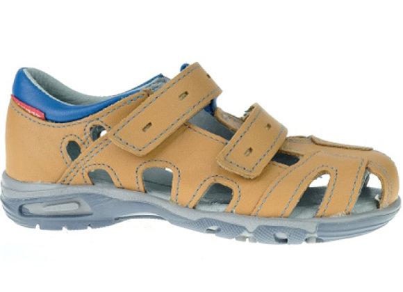 MB170C_CS Cognac Leather Sandals