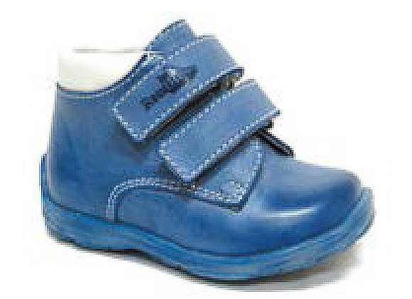 RBB13_1447B_HT Blue Leather High Tops