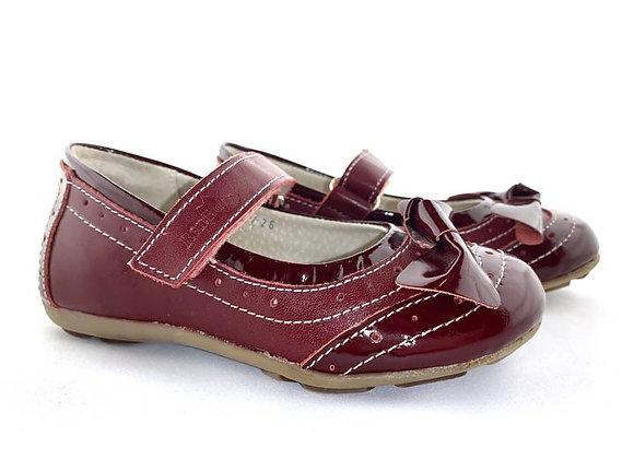RBG23_3187_D Burgundy Leather Mary Jane
