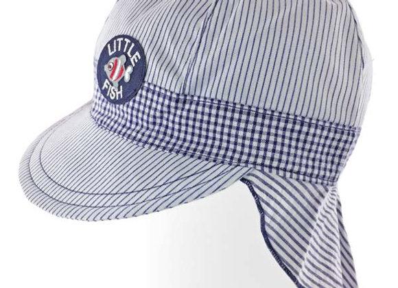 MB_STE_SH White-Navy Sun Hat