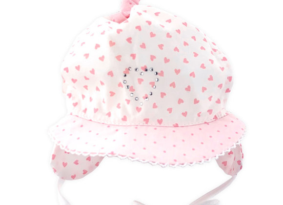 MG_3_SH Pink Hearts Summer Hat