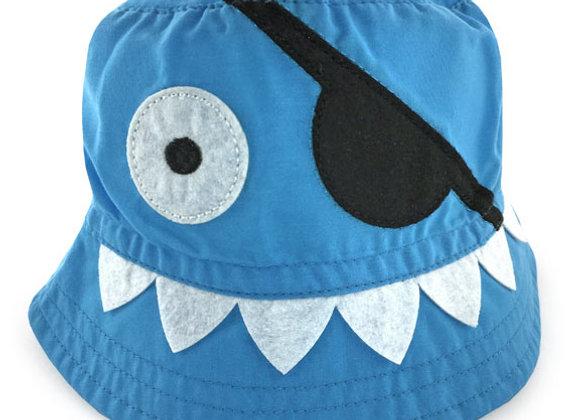 YB_102_SH Little Blue Shark Summer Bucket Hat