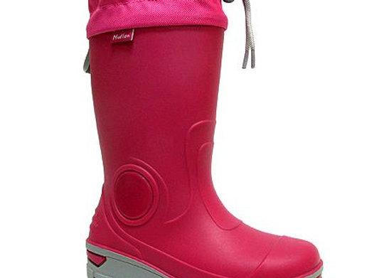 RBG23_487_0164_R Dark Pink Rain Boots