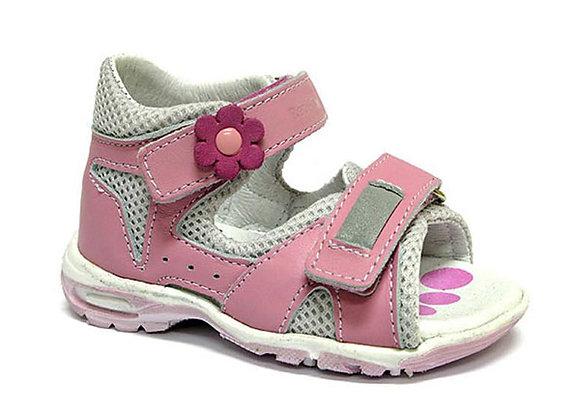 RBG11_1408LP_OS Pink Leather Sandals