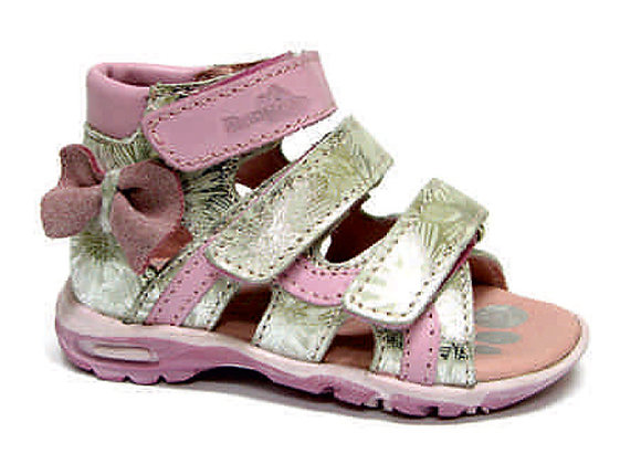RBG11_1489_OS Pink-Silver Leather Sandals