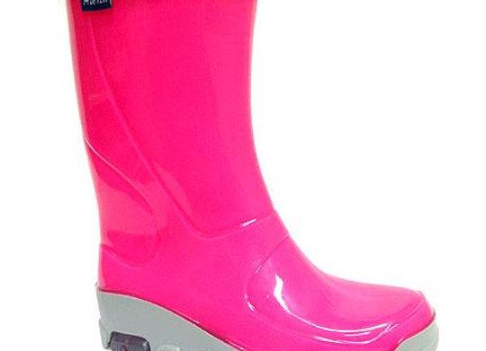 RBG33_492_F0596_R Fluo Pink Rain Boots