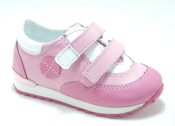 KG03881_LPINK_S Leather Sneakers