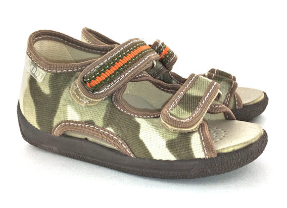 RBB13_112C_OT Camouflage Canvas Sandals