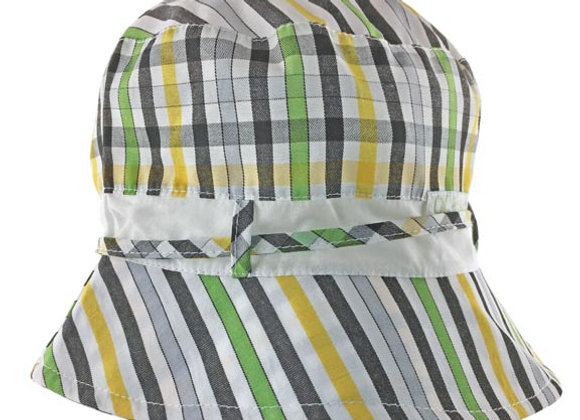 MB_MAGY_SH Multi-Color Checkered Summer Bucket Hat