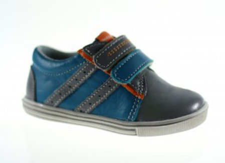 MB_305_TURQUOISE_G Leather Sneakers