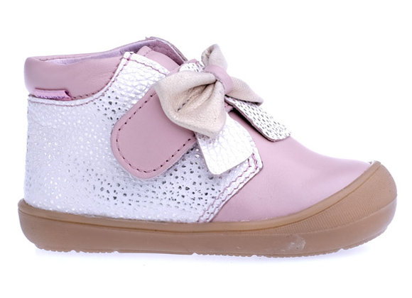 MG_1341P_HT Glam Powder Pink Leather High Tops