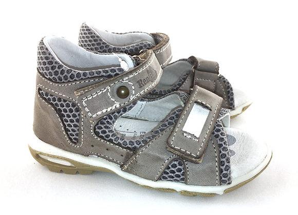 RBB11_1408B_OS Beige Leather Sandals