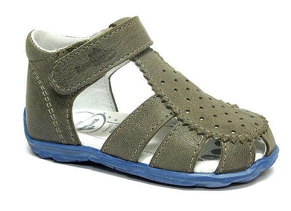 RBB11_1481_0150_CS Gray Leather Sandals