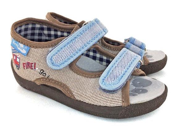 RBB13_112B_OT Beige Canvas Sandals