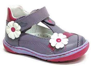 RBG_13_1321_D Purple Leather Dressy Shoes