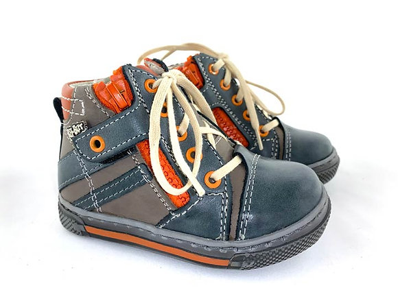 RBB13_1475B_HT Jeans/Gray Leather High Tops