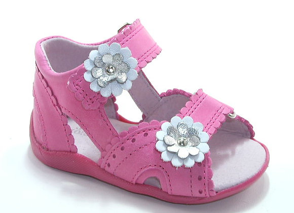 KG3706_OS Pink Leather Sandals