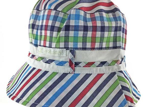 MB_MAGR_SH Multi-Color Checkered Summer Bucket Hat