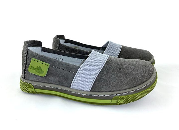 RBB23_3252G_D Gray Soft Suede Shoes