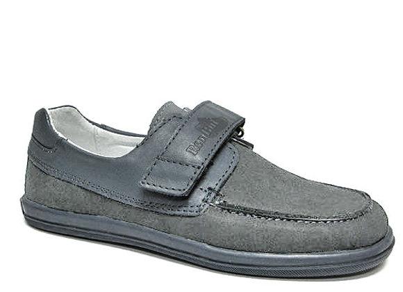 RBB33_4249_D Gray Nubuck Shoes