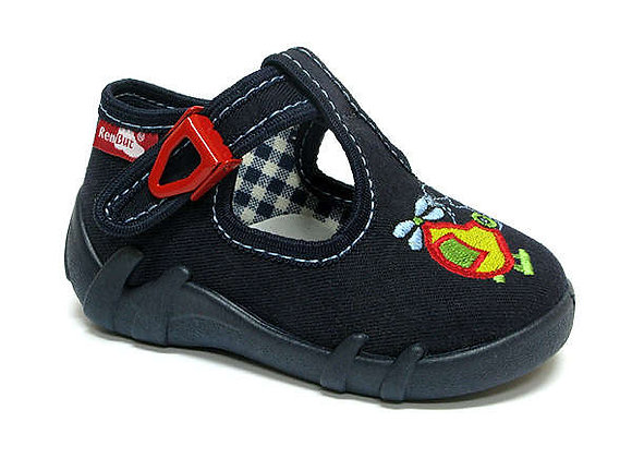RBB13_102_0200 Navy Helicopter Canvas Shoes