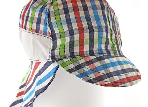 MB_FALR_SH Multi-Color Checkered Sun Hat