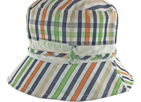 MB_MAGO_SH Multi-Color Checkered Summer Bucket Hat