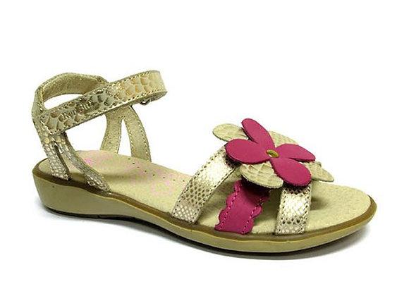 RBG31_4166_OS Gold Leather Sandals