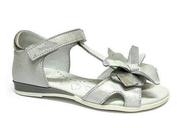 RBG31_4254_0627_OS Silver Leather Sandals