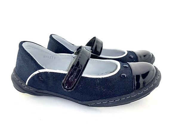 RBG_33_4153G_D Navy Leather Shoes