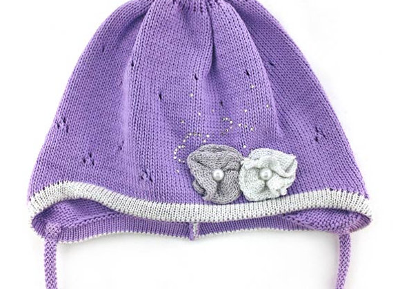 Purple Fall/Spring Hat