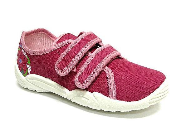 RBG33_374_0164 Mauve Canvas Sneakers