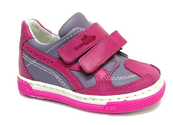 RBG13_268_0045_S Magenta/Lavender Leather Sneakers