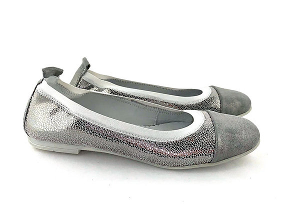 RBG33_4293S_D Silver Leather Shoes