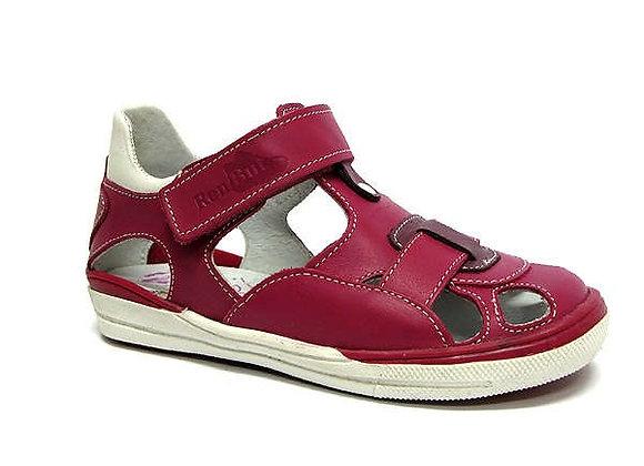 RBG23_3229_0045_CS Magenta Leather Sandals