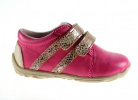 MG_305_FUSCHIA Leather Sneakers